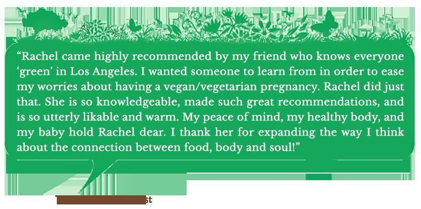 Holistic Living With Rachel Avalon - Coaching - Success Stories - Terra