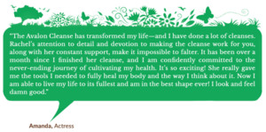 Holistic Living With Rachel Avalon - Coaching - The Avalon Cleanse - Testimonial
