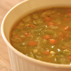 Healthy Homemade Vegetable Soup Recipe