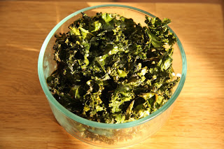 Holistic Living With Rachel Avalon - Sesame Ginger Kale Chips Recipe