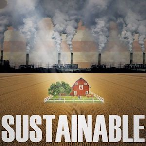 Sustainable film farm and chemical pollution