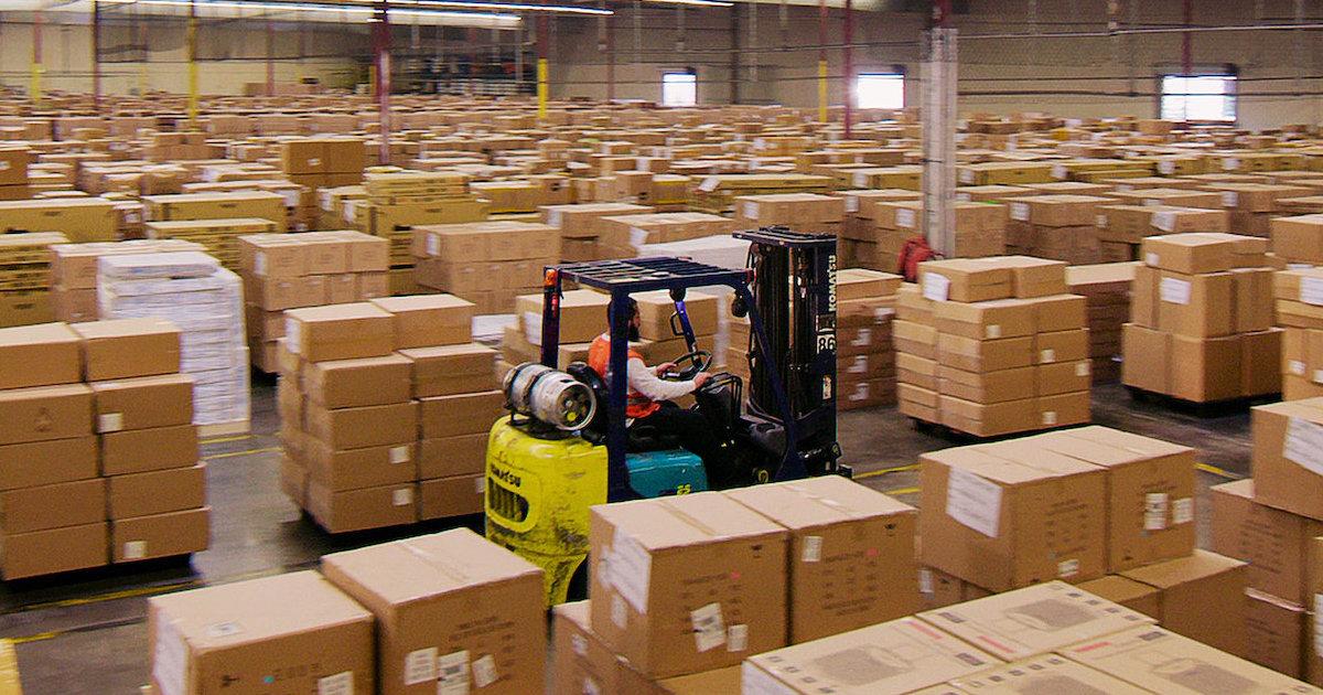 Broken: Season 1 Netflix Docuseries warehouse worker