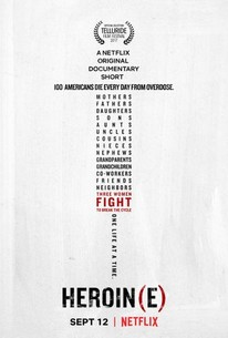 Heroin(e Movie Poster on Netflix hypodermic needle