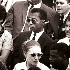 James Baldwin, writer and civil rights activist in I Am Not Your Negro documentary film